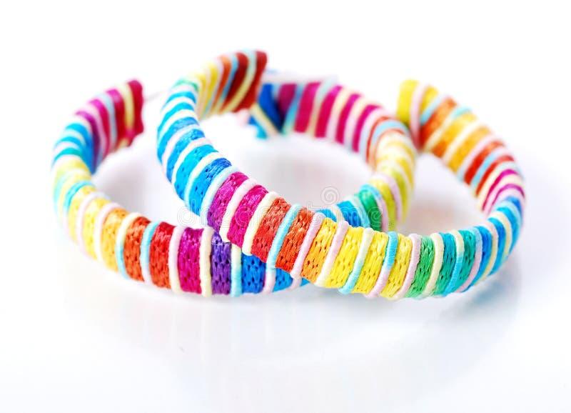 цветастое кольцо уха стоковая фотография
