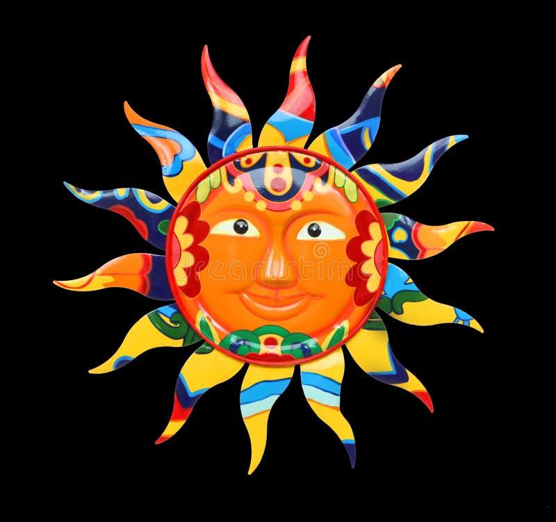 цветастое солнце живое стоковые изображения