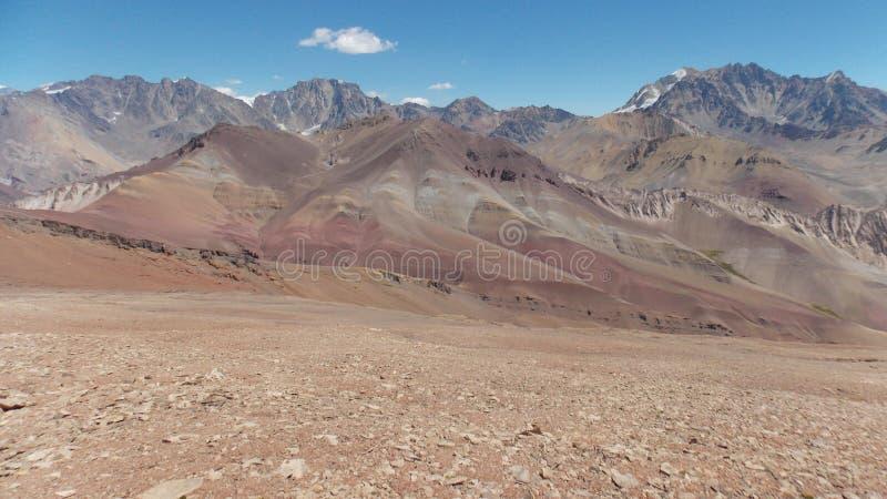 цветастые горы стоковые фотографии rf