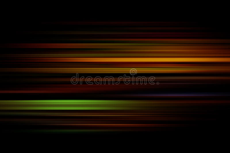 Цветастые линии абстрактная предпосылка иллюстрация вектора