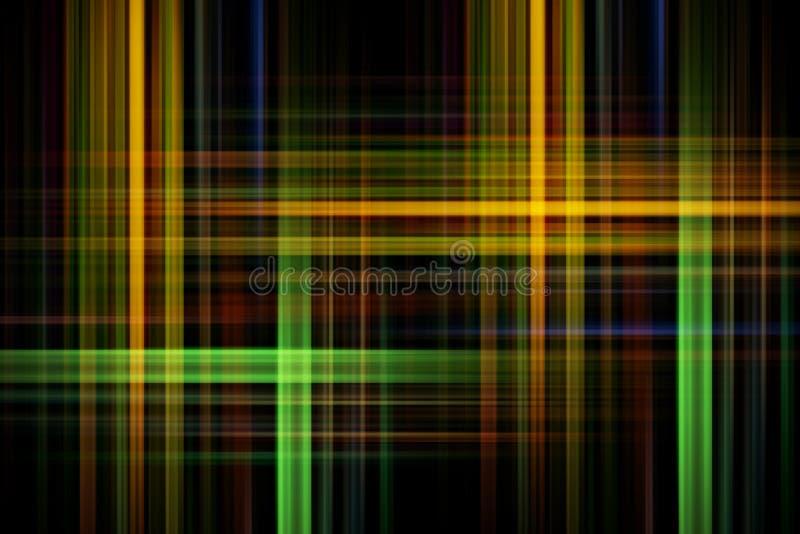 Цветастые линии абстрактная предпосылка бесплатная иллюстрация