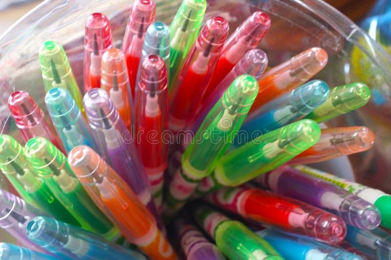 Цветастые карандаши стоковые фото
