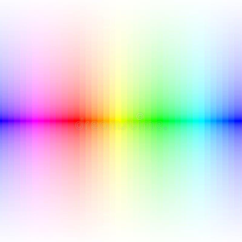 цветастые линии вектор иллюстрация штока
