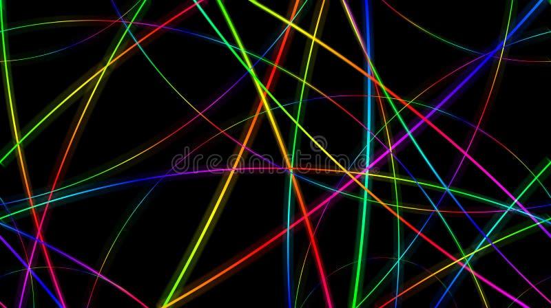цветастые линии бесплатная иллюстрация