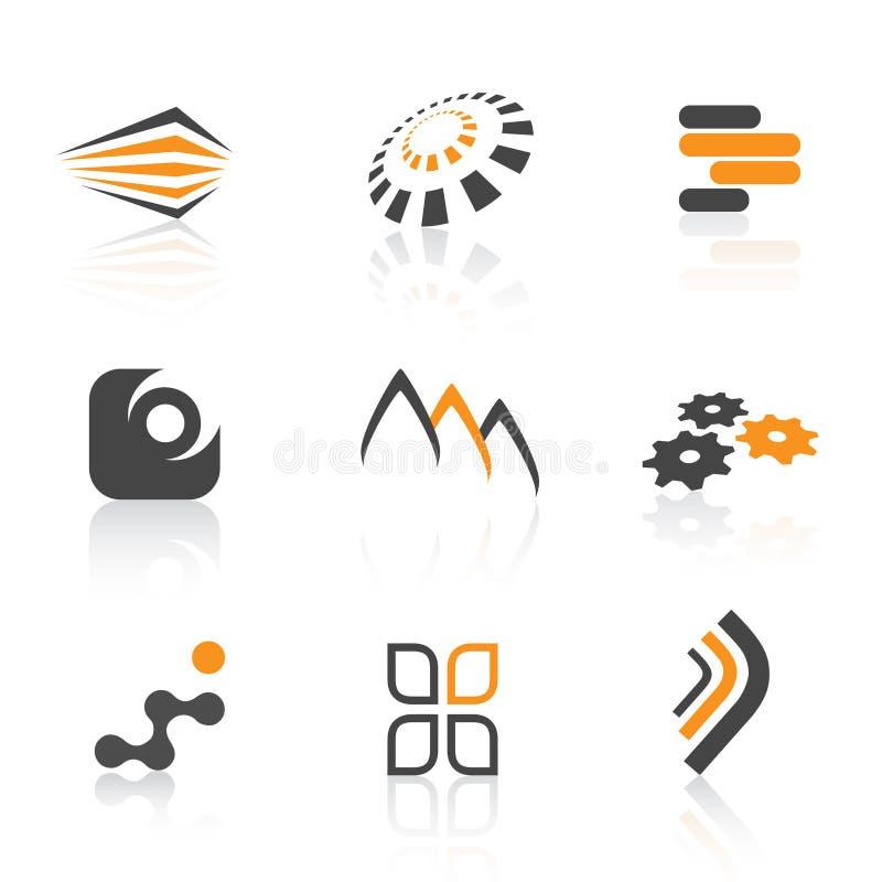 цветастые логосы бесплатная иллюстрация