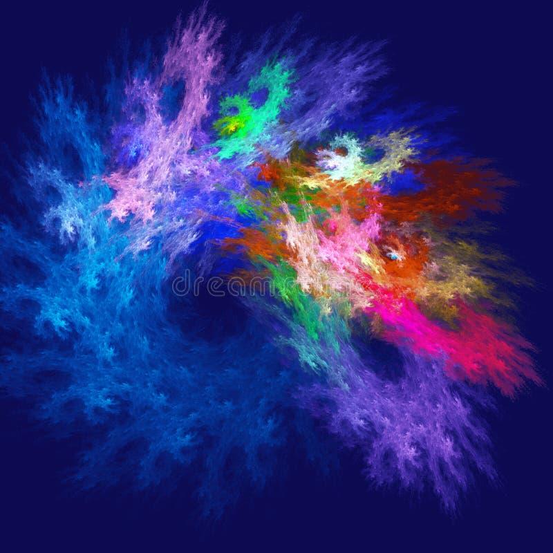 цветастые лучи стоковые изображения rf