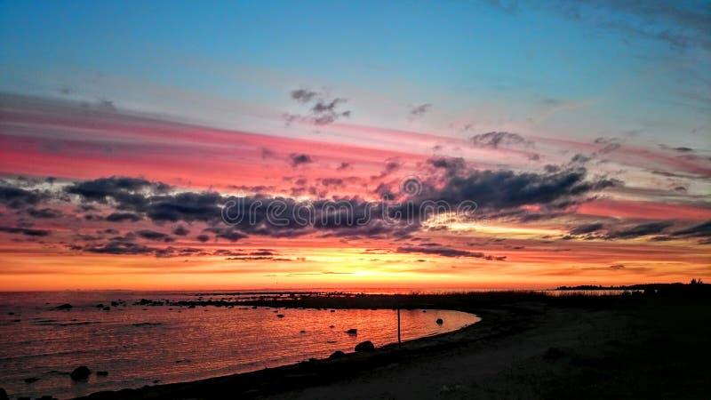 цветастые небеса стоковые фото