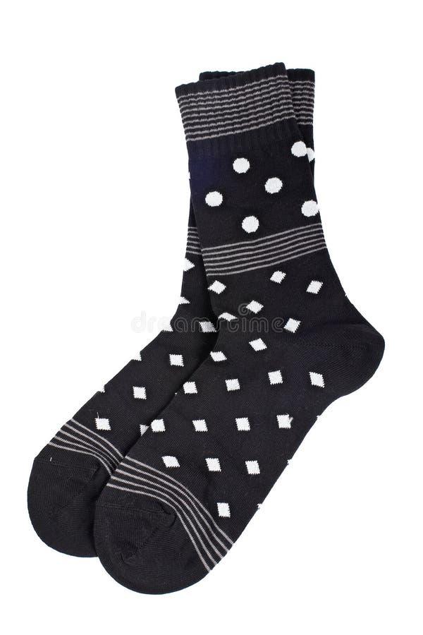 цветастые носки пар стоковое изображение rf