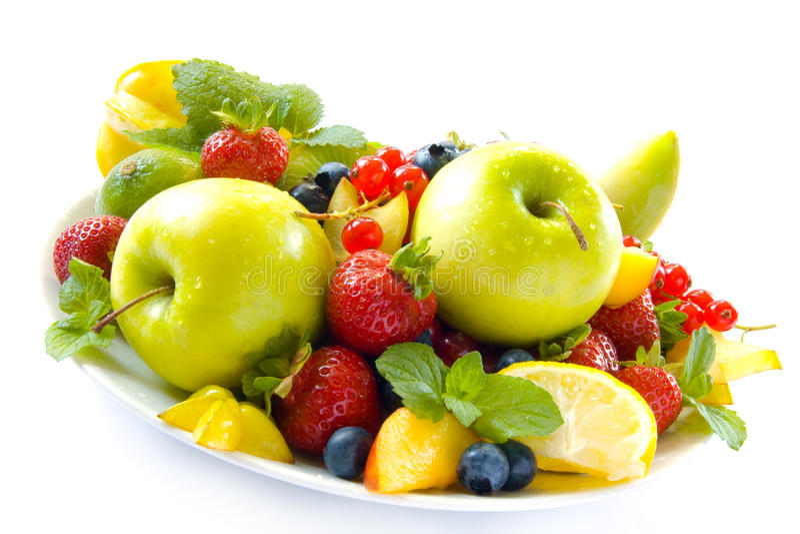 цветастые плодоовощи стоковые фотографии rf