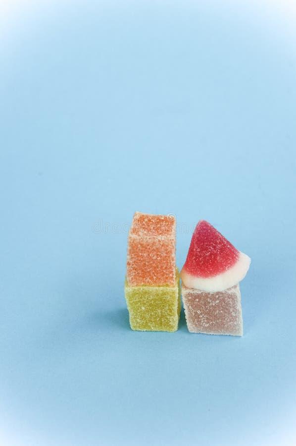 цветастые помадки затира плодоовощ стоковая фотография