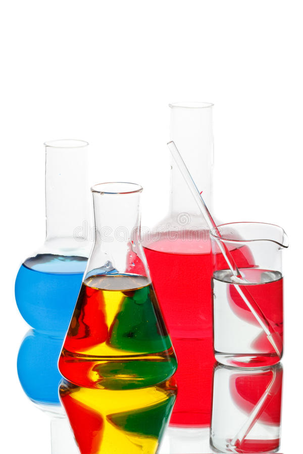 цветастые склянки различные стоковое изображение