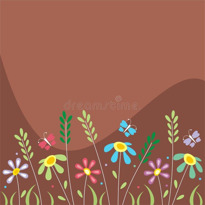 цветастые цветки бесплатная иллюстрация