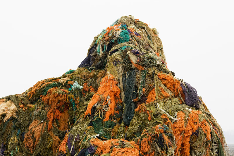 цветастые fishnets стоковые изображения rf