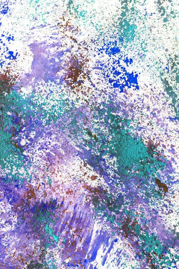 цветастый выплеск краски иллюстрация штока