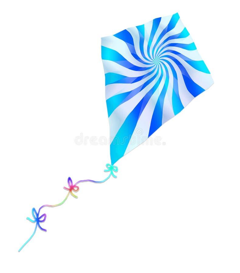 цветастый змей вертясь бесплатная иллюстрация