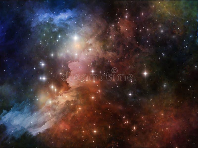 Download цветастый космос иллюстрация штока. иллюстрации насчитывающей пыль - 40589391