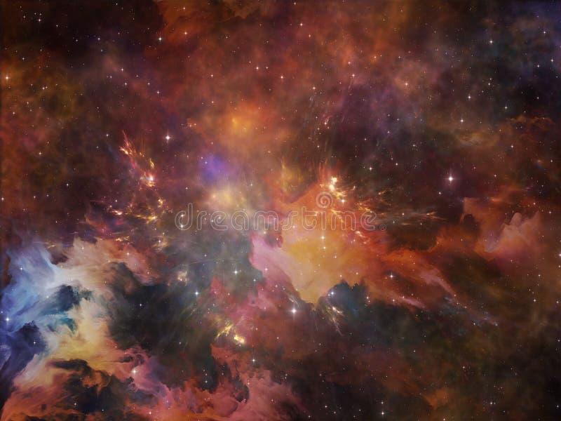 Download цветастый космос иллюстрация штока. иллюстрации насчитывающей асимметрией - 40589406