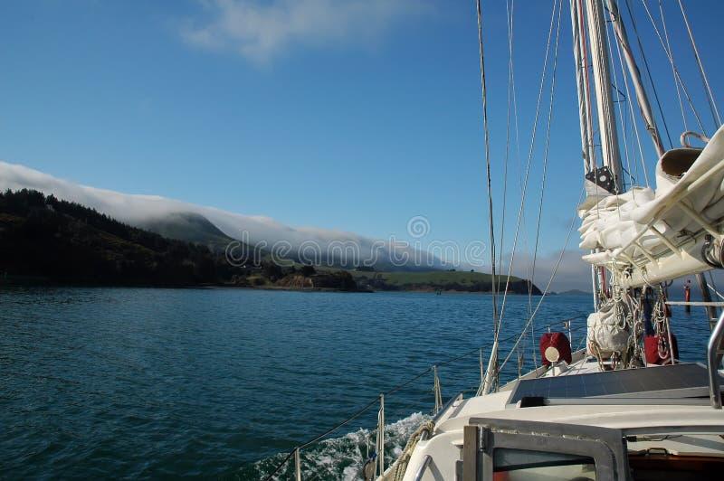 цветастый sailing стоковое фото rf