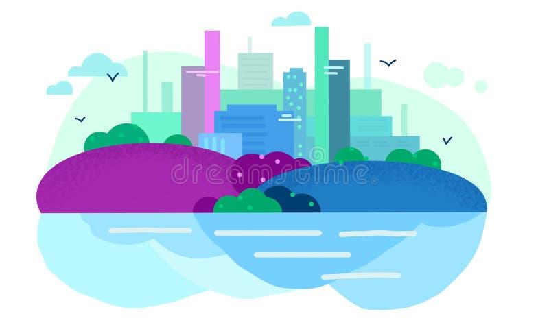 Цвета города стоковое изображение