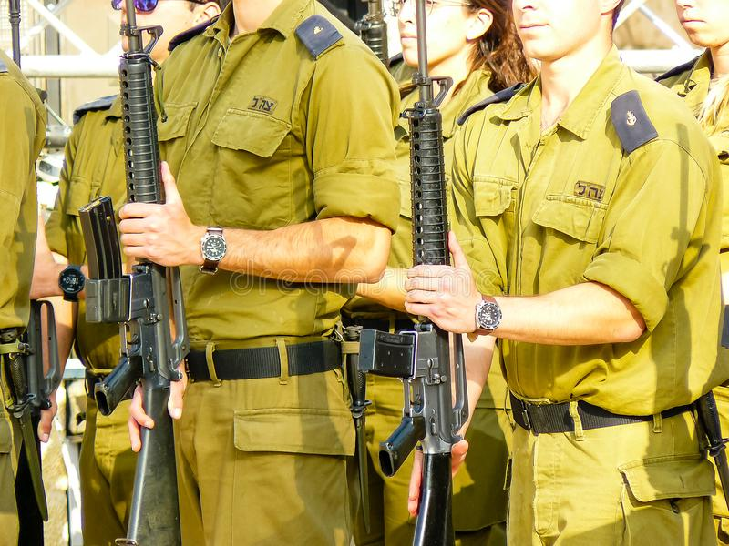 Цвета Израиля стоковое фото rf