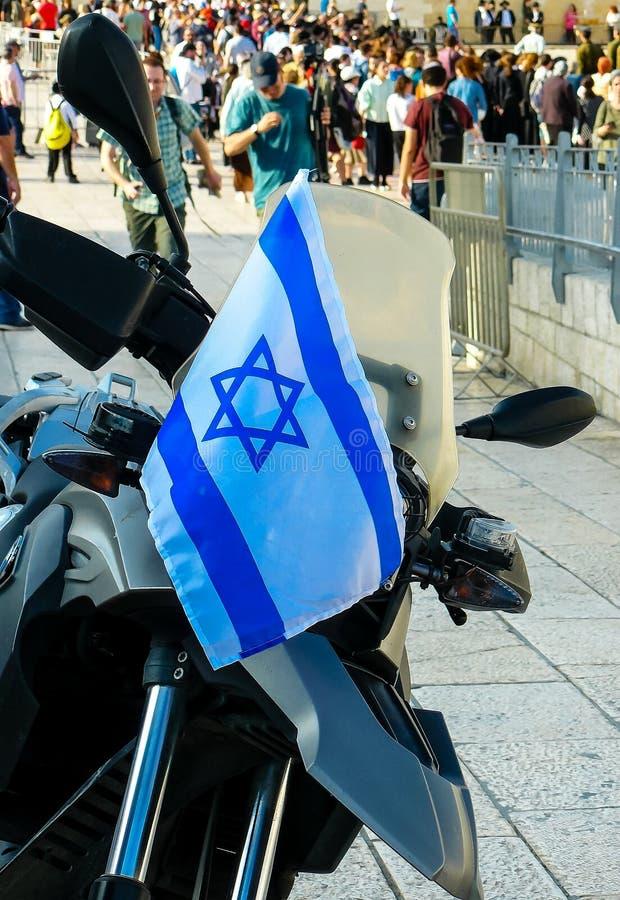 Цвета Израиля стоковая фотография rf