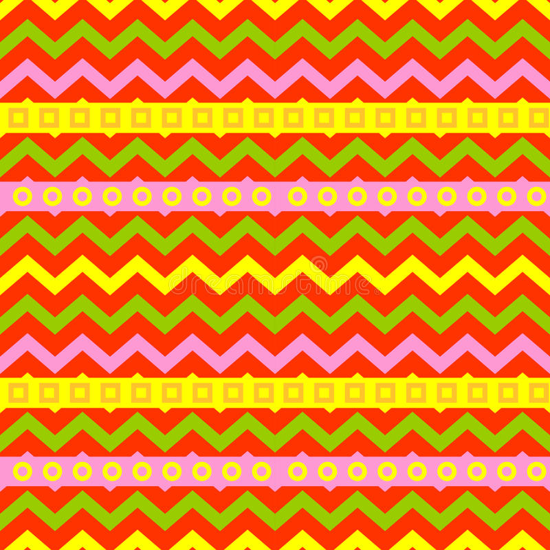 Цвета картины геометрии искусства иллюстрация вектора предпосылки текстуры абстрактного безшовного геометрическая графическая иллюстрация штока