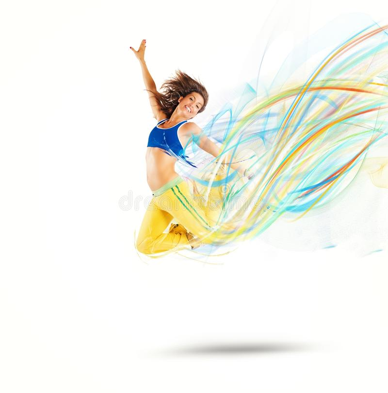 Цвета танцора стоковое фото