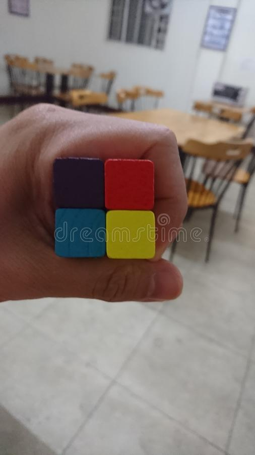 4 цвета стоковое изображение
