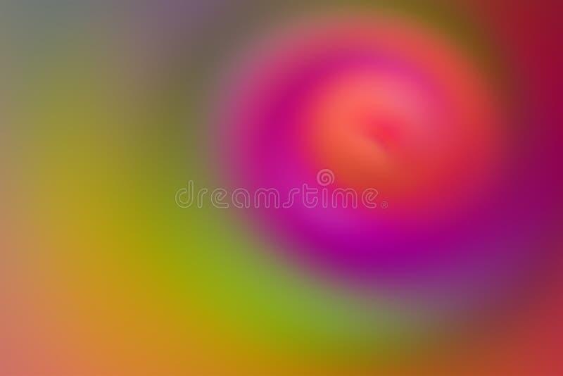 Цвета slough градиента красочной предпосылки конспекта нерезкости воды желтый зеленый дизайн яркого оранжевого мягкого теплого ни иллюстрация вектора