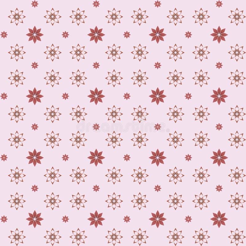 цветет безшовная текстура иллюстрация вектора