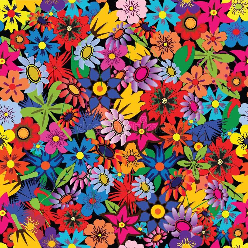 цветет безшовное бесплатная иллюстрация
