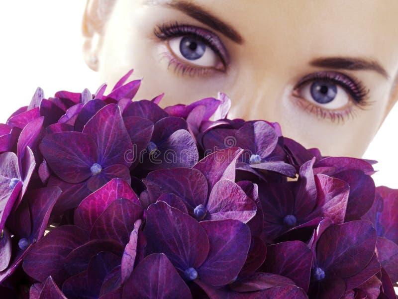 цветет женщина Стоковая Фотография RF