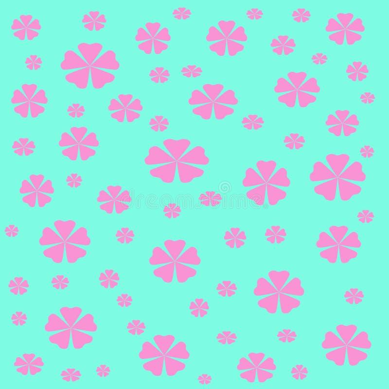 цветет обруч подарка иллюстрация вектора
