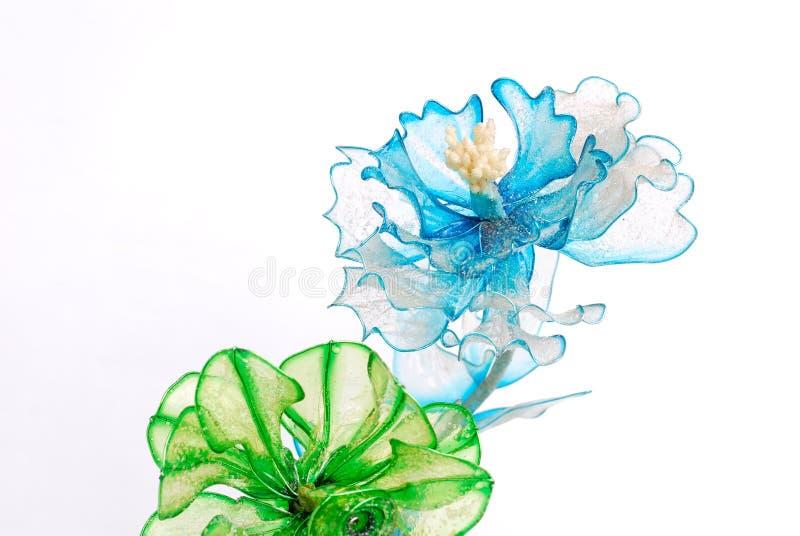 цветет пластмасса стоковые фото