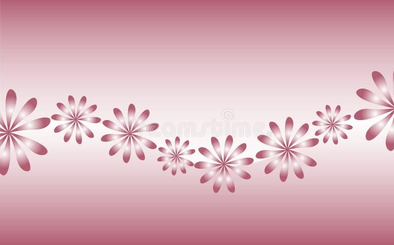 цветет ретро иллюстрация вектора