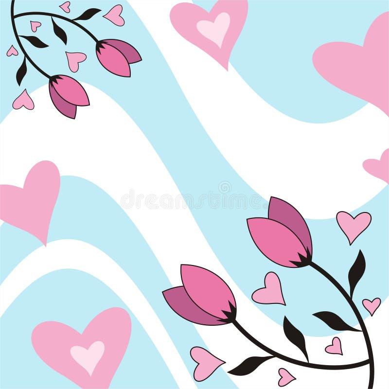 цветет сердца бесплатная иллюстрация