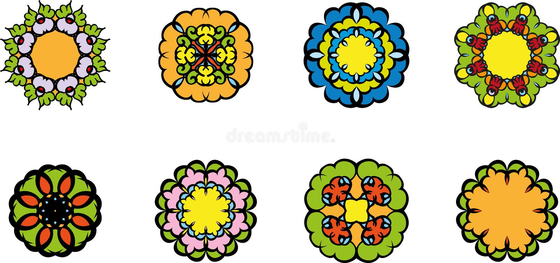 Цветет символ иллюстрация штока