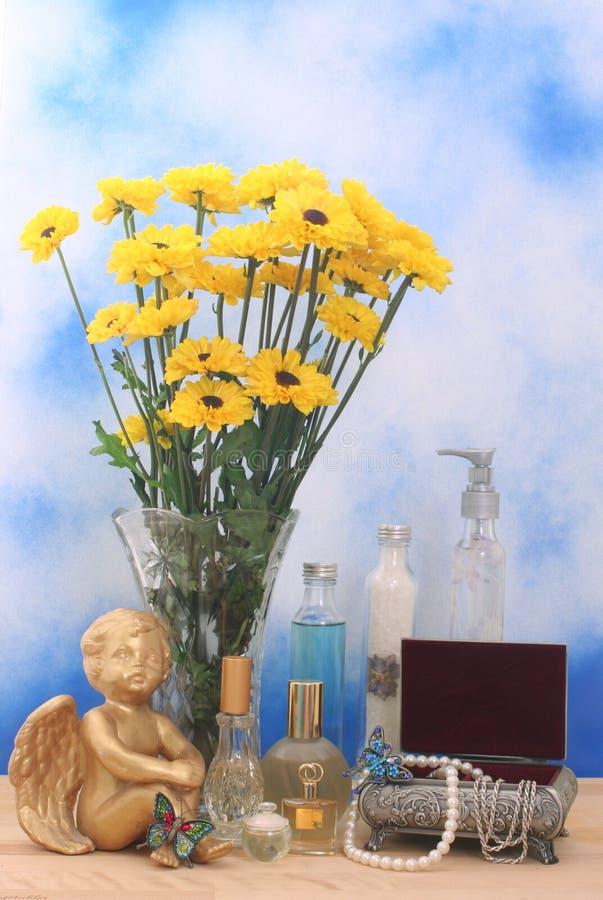 цветет ювелирные изделия стоковое изображение
