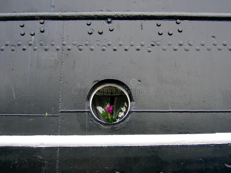 цветет porthole стоковое изображение rf