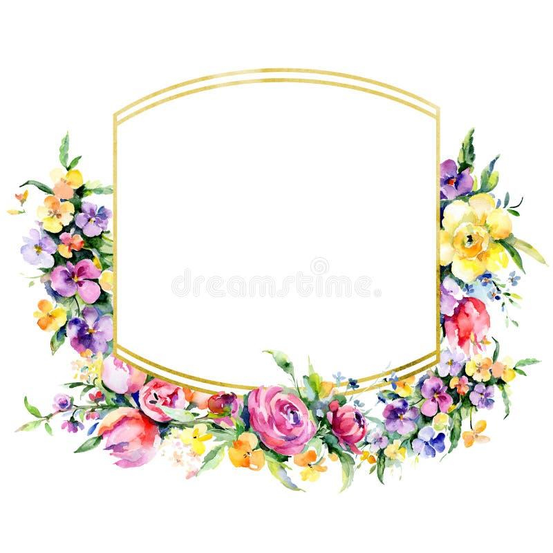 Цветки букетов флористические ботанические r E стоковые изображения rf