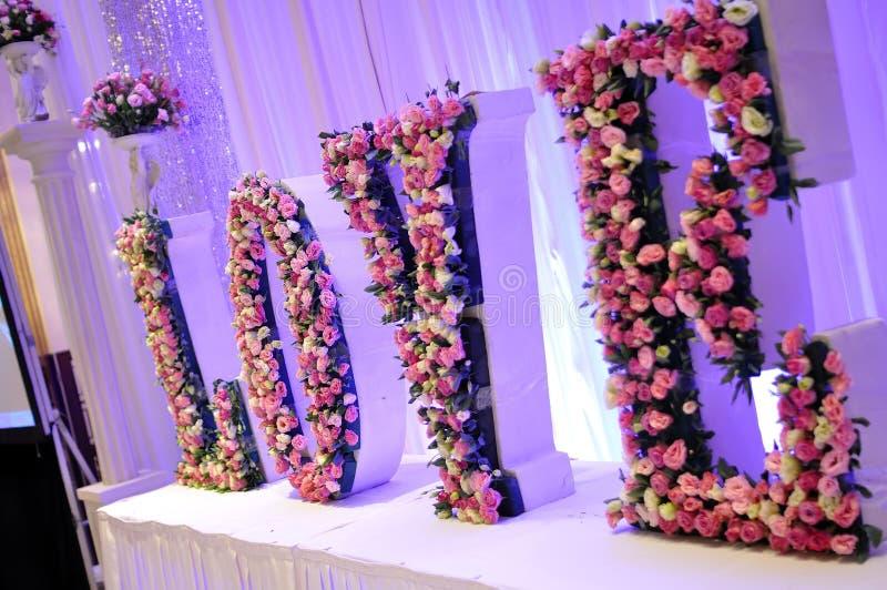 Цветки венчания стоковое изображение