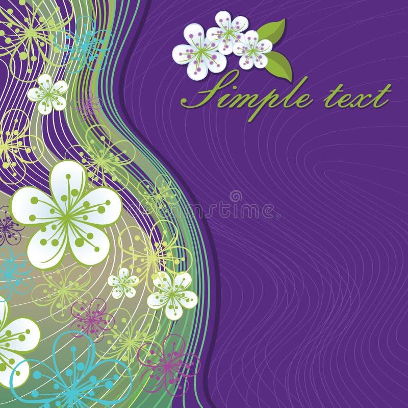 Download Цветки весны и линия предпосылка. Шаблон дизайна Иллюстрация вектора - иллюстрации насчитывающей green, multicolor: 37930793