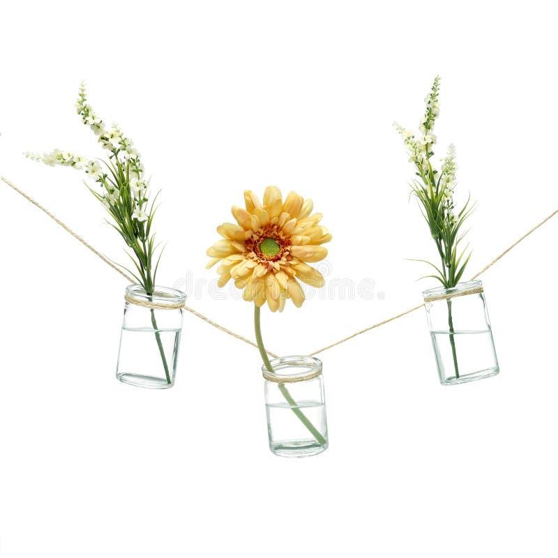 Цветки в вазах стоковые фото