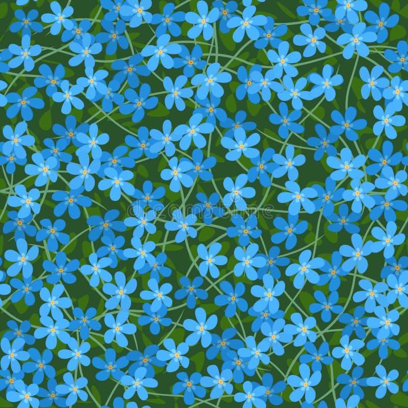 цветки забывают меня не иллюстрация штока