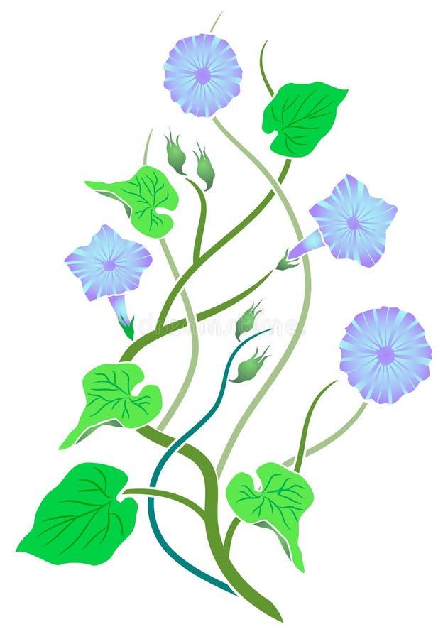 цветки конструкции иллюстрация вектора