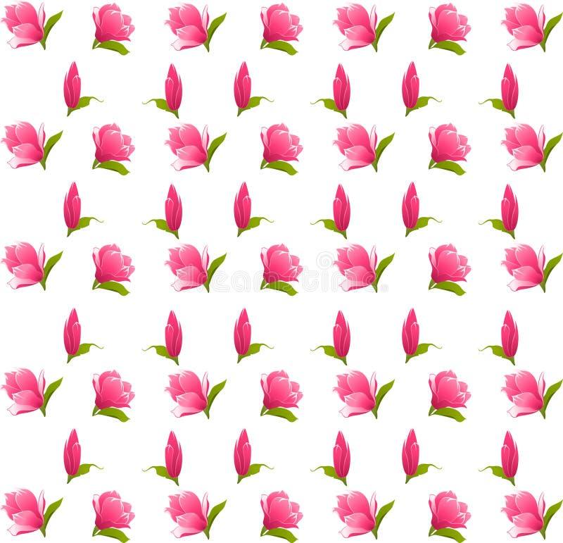 цветки предпосылки иллюстрация штока