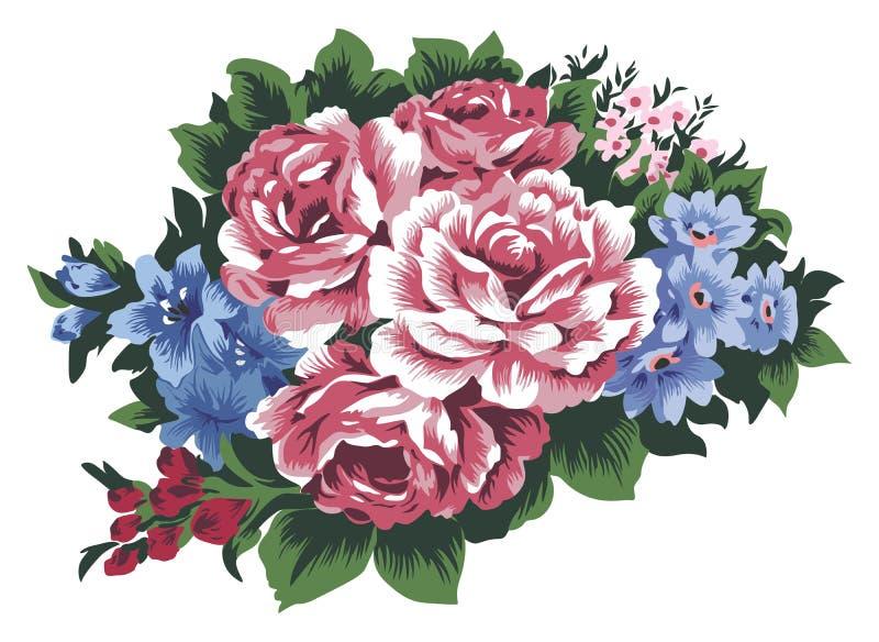 цветки пука иллюстрация вектора