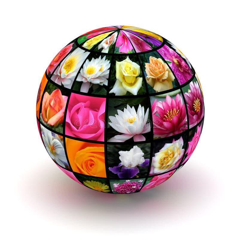 Download Цветки планеты стоковое изображение. изображение насчитывающей символ - 37930627