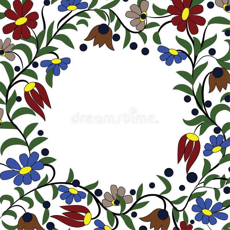 Цветки рамки бесплатная иллюстрация