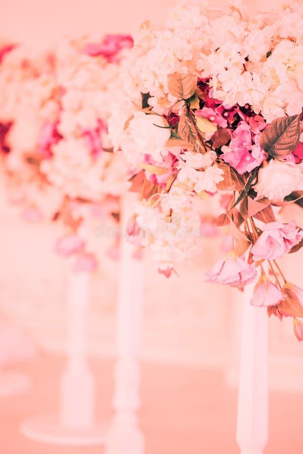 Цветки свадьбы, bridal крупный план букета стоковые изображения rf